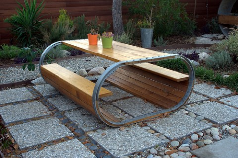 Garden furniture - Photo by Jeremy Levine
