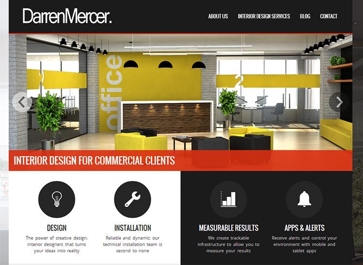 Darren Mercer Interiors Site Launched