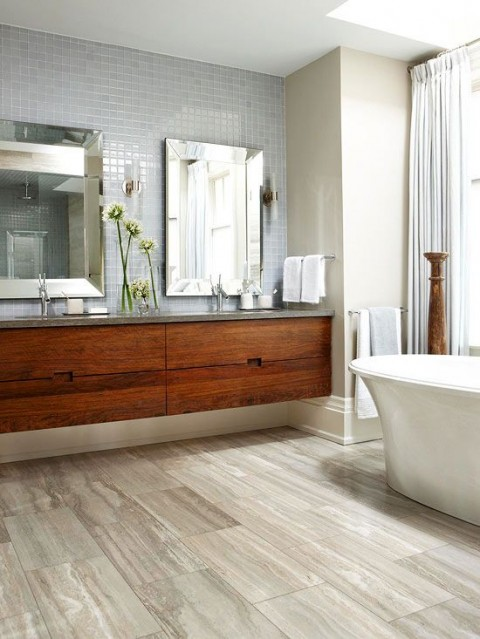 Incredible bathroom - Photo from BHG.com