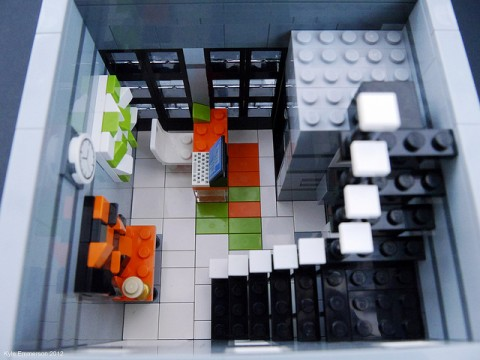 Clickit Graphic Design Office - Modular Townhouse