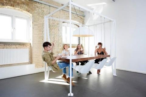 Creative boardroom table