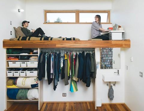 Loft living space - Dwell