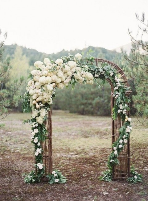 Floral arch - Jose Villa