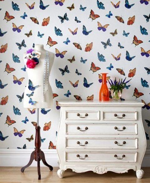 FlutterBy Pearl Wallpaper by Julien Macdonald
