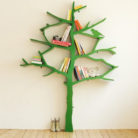 Tree Bookcase - FADS Pinterest