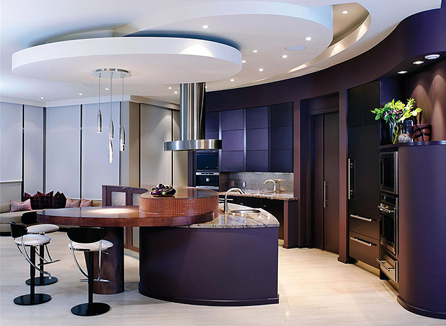10 jaw dropping designer kitchens for Luxury contemporary kitchens