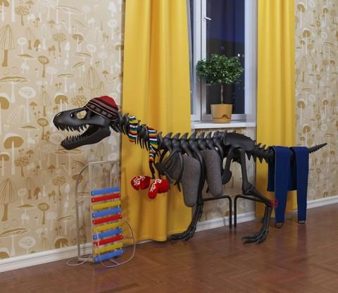 Dinosaur Radiator