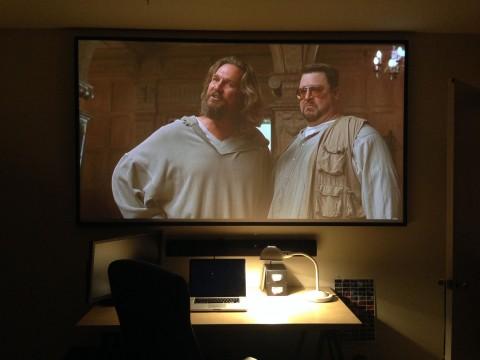 "Make It Yourself - DIY 100"" Projector Screen"