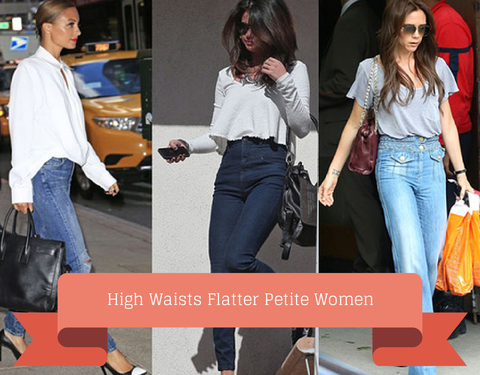 High Waists Flatter Petite Women