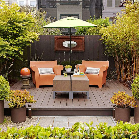 Ideas for creating the perfect relaxing garden for Garden area ideas