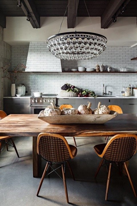 Rustic style kitchen - Found on remodelista.com