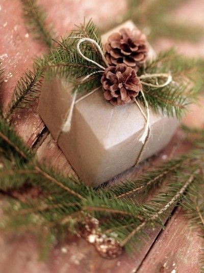 Scatter festive ornaments