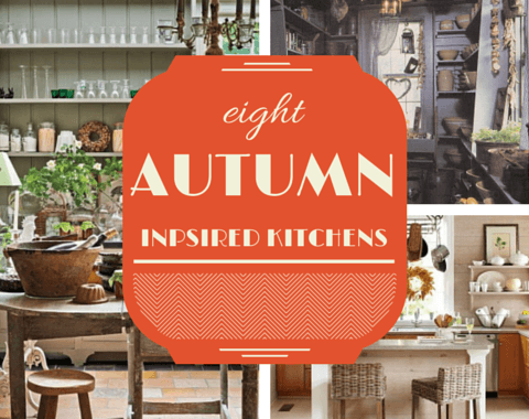 Eight Autumn Inspired Kitchens