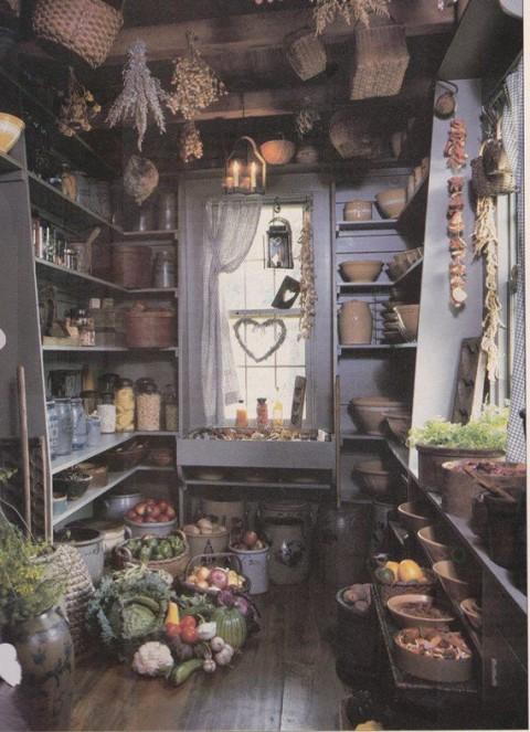 Autumn kitchen