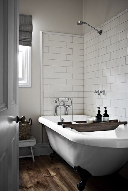Roll Top Bath - Photo By Etxekodeco