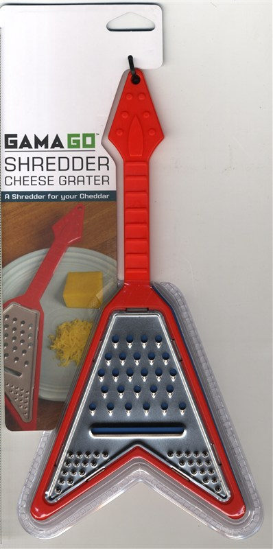 Heavy Metal Guitar Shaped Cheese Grater