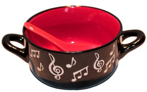 Little Snoring Musical Not Bowl & Spoon