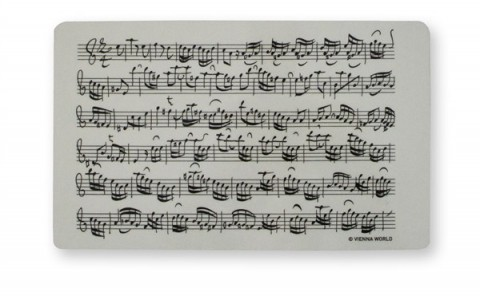 Sheet Music Cutting Board