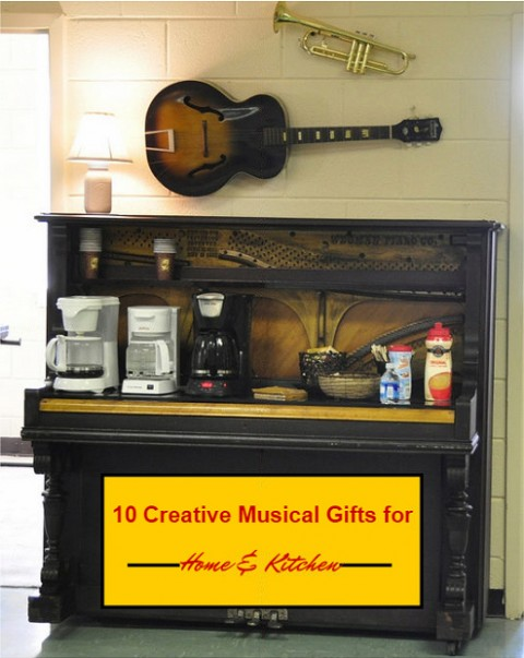 10 Creative Musical Gifts For Home & Kitchen