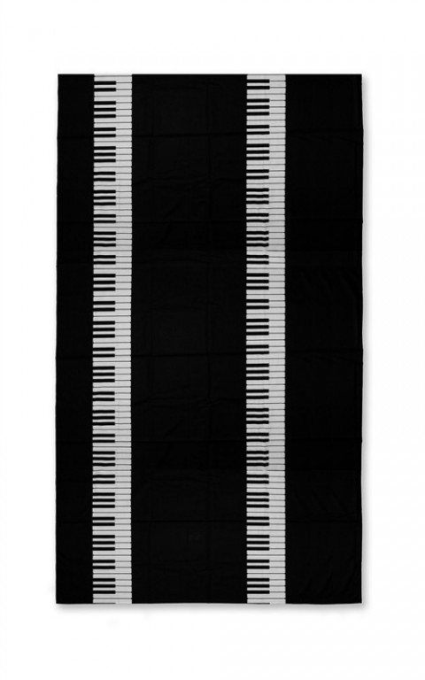 Piano Tablecloth