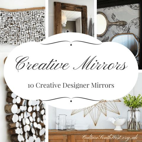 10 Creative Designer Mirrors