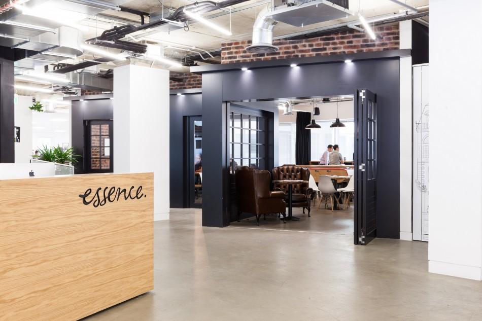 Essence office interior from peldon rose for Interior design agencies london