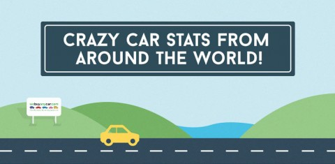 Car Stunts From Around The World [Infographic]