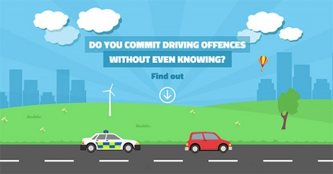 Do you commit driving offences? [Infographic]