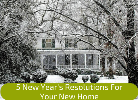 5 New Year's Resolutions For Your New Home - By Universal Pops