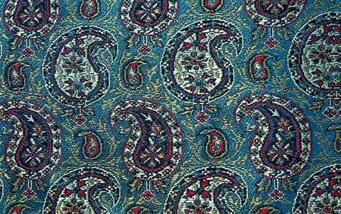 Persian Silk Brocade