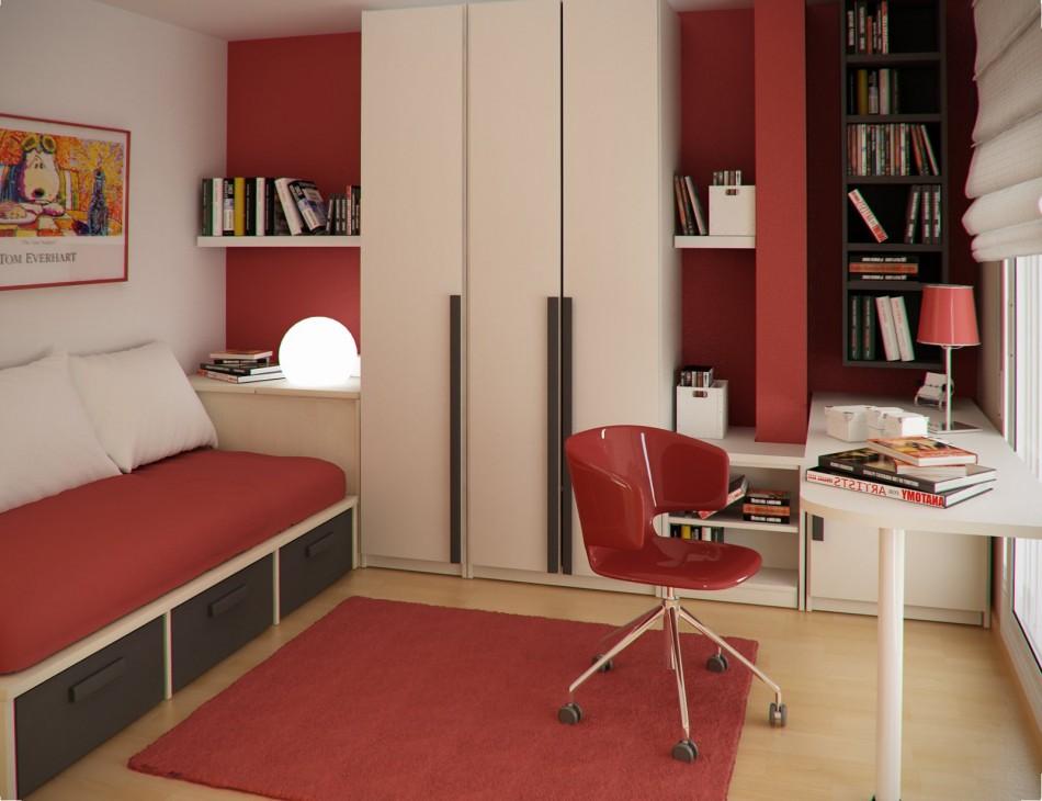 Superior Red Rug Girls Bedroom