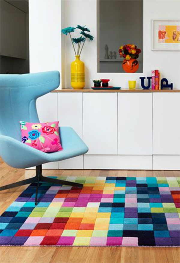 Colour Swatch Rug  Source