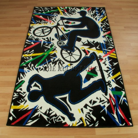 Street / urban style rug for kids