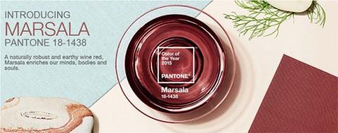 Marsala - Panetone colour of 2015