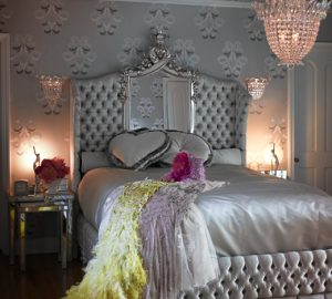 Luxurious Silver Bedroom