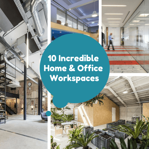 10 Incredible Home & Office Workspaces