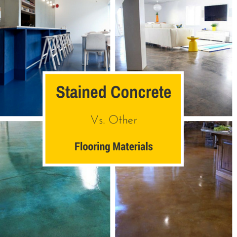 Stained Concrete Vs. Other Flooring Materials