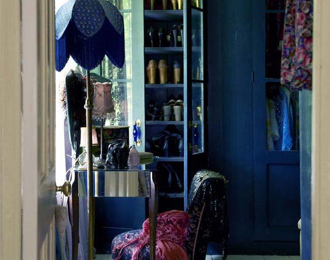 Bohemian Blue Boudoir - By Pearl Lowe