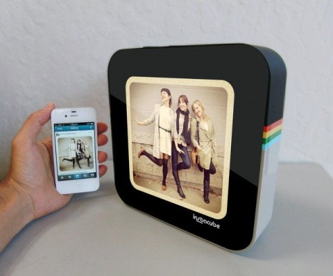 Instagram digital photo frame