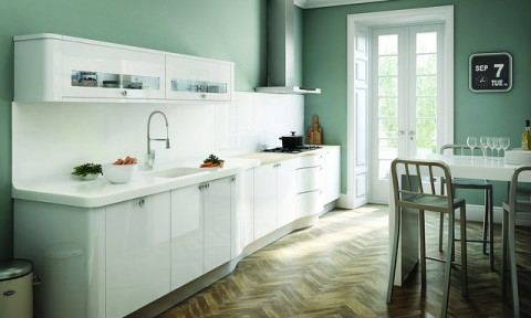 Minimal kitchen - Photo by Steve Larkin @ Flickr