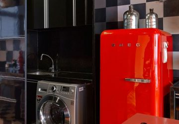 Funky Kitchen Appliances to Brighten Up Your Kitchen - Red Smeg Fridge