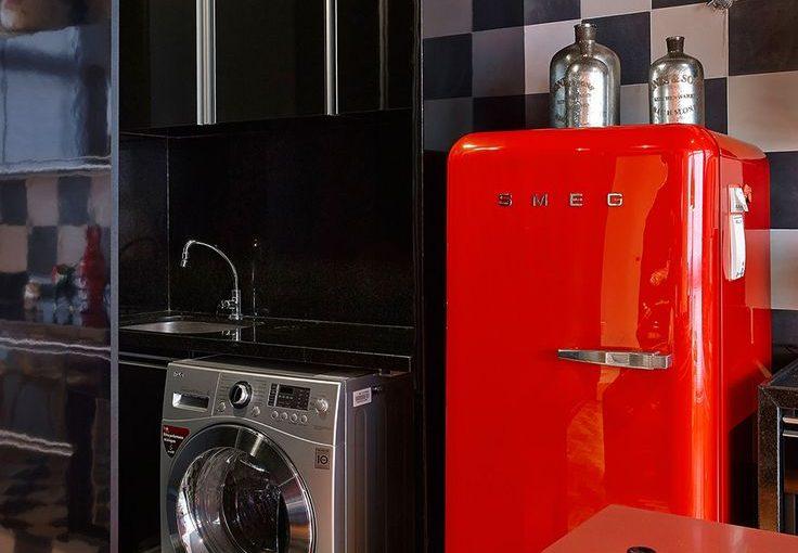 Funky Kitchen Appliances to Brighten Up Your Kitchen - Red Smeg Fridge