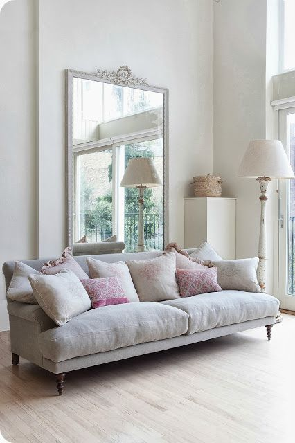 5 Expert Secrets To Opening Up Space In Tinny Rooms - Sofa & Mirror