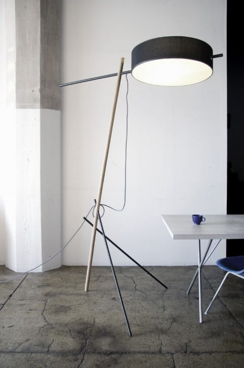 10 Designer Floor Lamps - Excel Floor Lamp - Rich Brilliant Willing