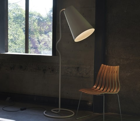 10 Designer Floor Lamps - Northern Lighting Bender Floor Lamp