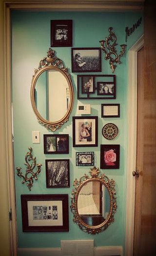 Five Ways To Brighten A Dull And Boring Bedroom - Mirror & Picture Wall