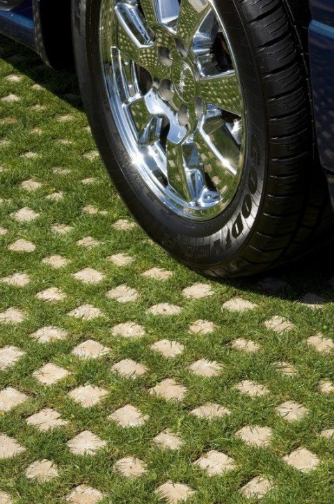 How To Improve The Look of Your Driveway - Car Parked On Grass Driveway