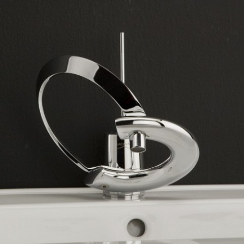 Designer Bathroom Faucets - Lacava Waterfall Faucet