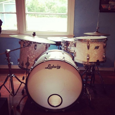 8 Unusual Ways Self Storage Will Be Able To Help You During 2015 - Vintage Ludwig Drum Kit