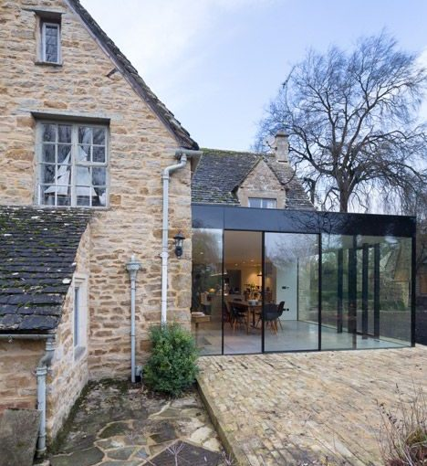 How To Remodel A Home On A Tight Budget - Jonathan Tuckey Design Adds Glazed Extension to Grade II-listed Yew Tree House